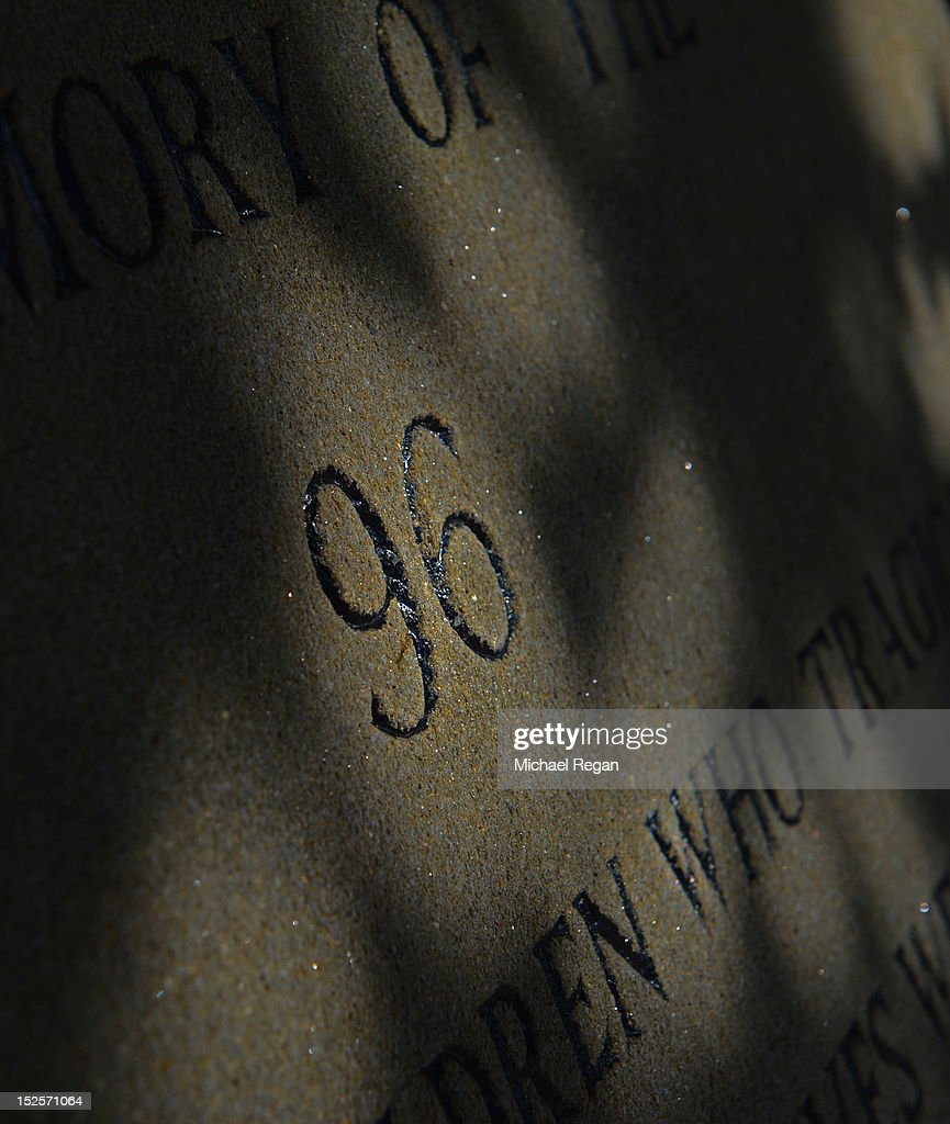 A view of the memorial to the 1989 Hillsborough disaster in which 96 Liverpool supporters lost their lives before the npower Championship match between Sheffield Wednesday and Bolton Wanderers at Hillsborough Stadium on September 22, 2012 in Sheffield, England.