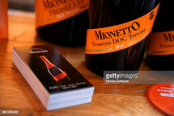 A view of the Mionetto on display during Aperitivo hosted by Scott Conant at The Standard High Line on October 13 2017 in New York City