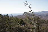View of the Mohonk Preserve in the Shawangunk Ridge in Ulster County New York The Mohonk Preserve is the largest nonprofit nature preserve in New York