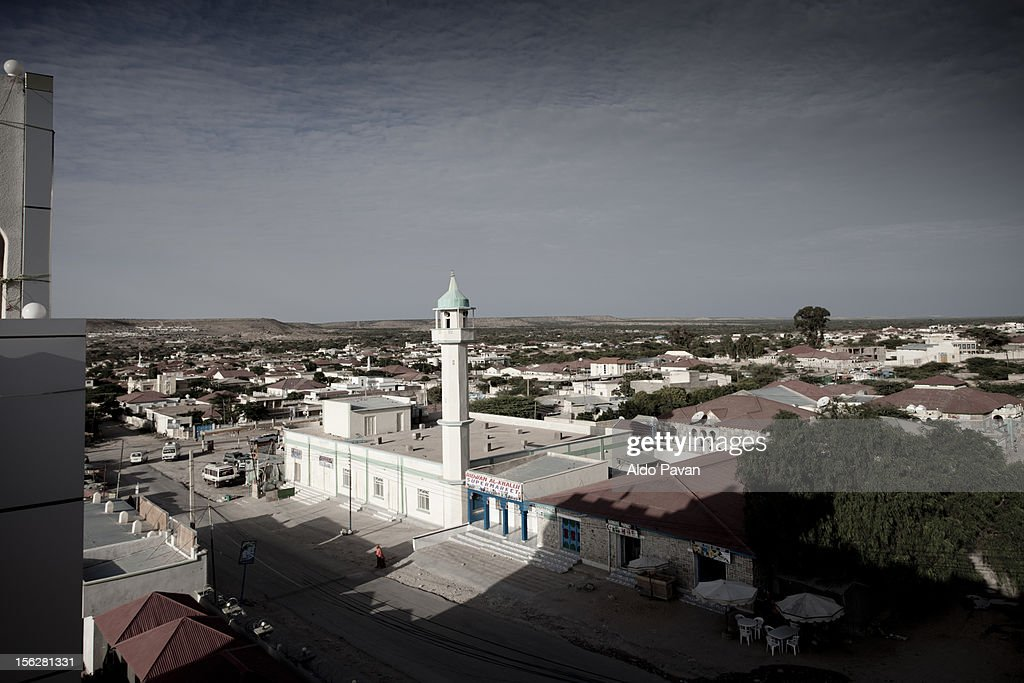View of the mosque in the outskirt.