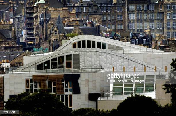 A view of the new Scottish parliament site looking out over Edinburgh At a meeting of the Scottish Parliament's Audit Committee Scotland's public...