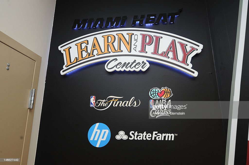 A view of the newly renovated NBA Cares Learn and Play Center at the Miami Springs Community Center presented by HP and State Farm on June 18, 2012 in MIami, Florida.