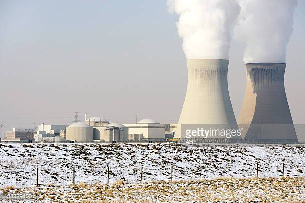 A view of the nuclear power plant in Doel on February 6 2012 AFP PHOTO / BELGA / DIRK WAEM