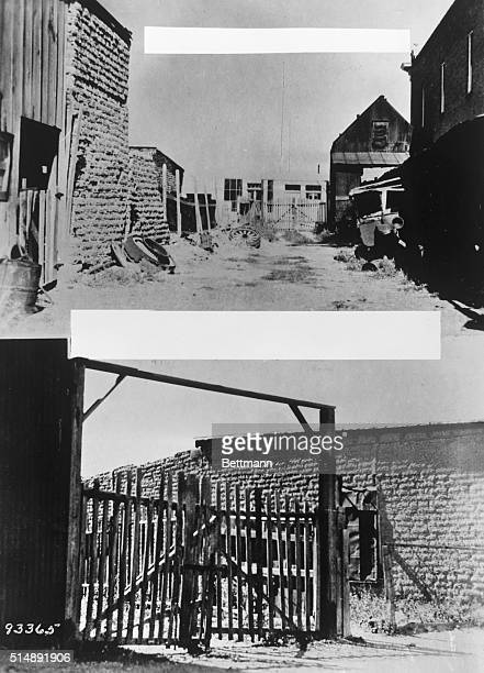 View of the 'OK Corral' in Tombstone Arizona Site of the EarpClanton feud in 1881