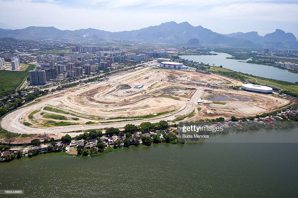 View of the old Autodromo Jacarepagua demolished for the construction of the Olympic Park for the 2016 Games on April 04, 2013 in Rio de Janeiro, Brazil. In the following years the city will host very important events, such as the Confederations Cup and the World Youth Day, FIFA World Cup in 2014, America Cup in 2015 and the Summer Olympics in 2016.