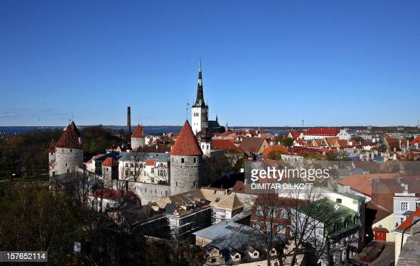 A view of the old city ot Tallinn taken 10 May 2007 AFP PHOTO / DIMITAR DILKOFF