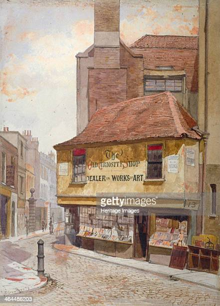 View of the Old Curiosity Shop Portsmouth Street Westminster London 1879