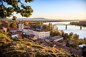 View of the old town of Esztergom