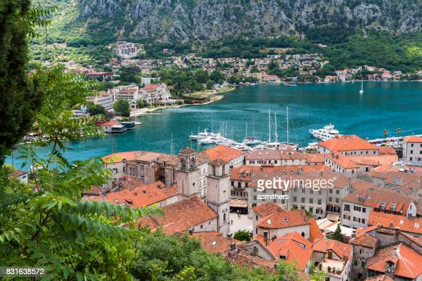 View of the old town of Kotor - Montenegro