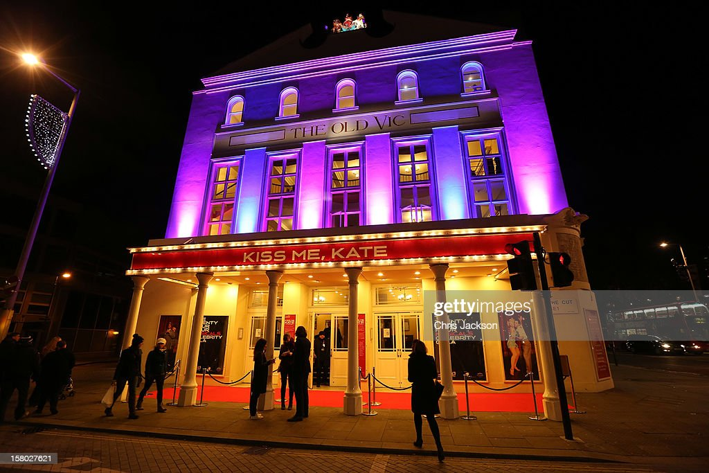 A view of the Old Vic Theater on the night of the 24 Hour Musicals gala performance on December 9, 2012 in London, England. The evening was sponsored by Aqua Financial Solutions and Jack Daniels Single Barrel.