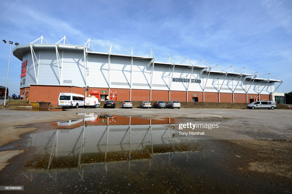 A view of the outside of the New York Stadium, home of Rotherham United before the Sky Bet League One match between Rotherham United and Peterborough United at The New York Stadium on September 28, 2013 in Rotherham, England.