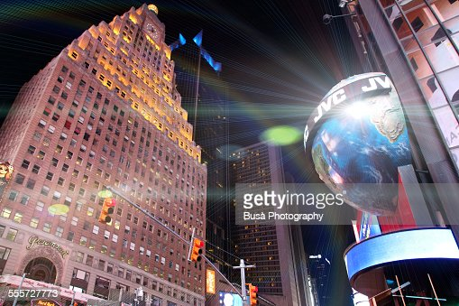 View of the Paramount Building, Times Square, NYC
