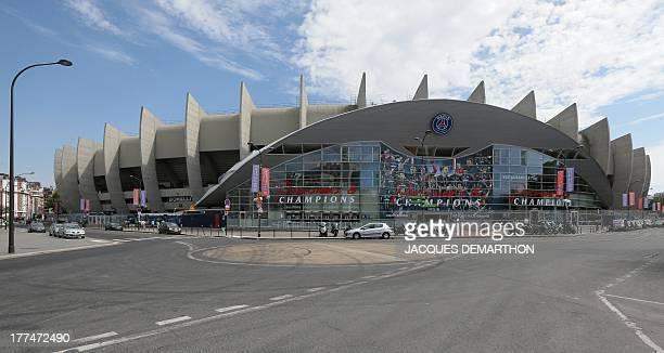 A view of the Parc des Princes stadium in Paris on August 23 2013 AFP PHOTO / JACQUES DEMARTHON