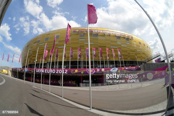 A view of the PGE Arena in Gdansk