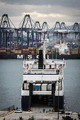 A view of the Piraeus port in Greece on January 30 2015 Greeces new government headed by the Syriza Party said the planned privatization of the port...