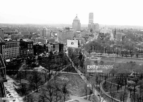 A view of the Playboy Club of Boston in Park Square Dec 9 1968