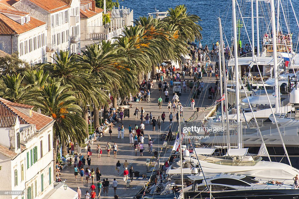 View of the port : Stock Photo