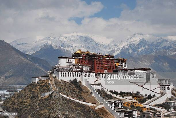 A view of the Potala Palace on March 20 2009 in Lhasa Tibet Autonomous Region