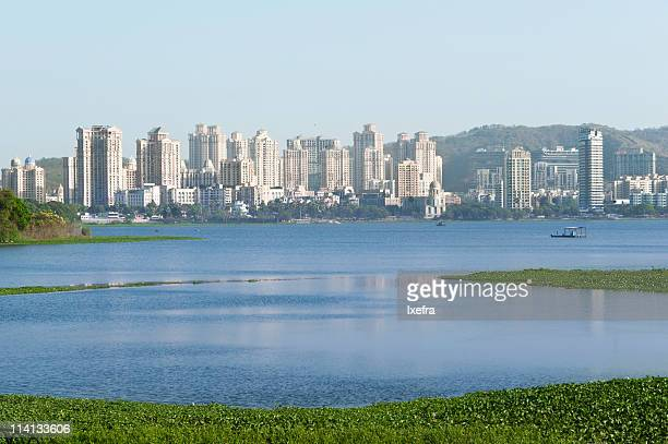 View of the Powai lake.