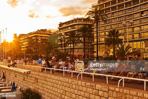 View of the Promenade des Anglais