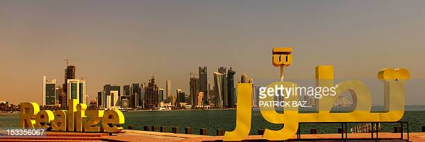 A view of the Qatari capital Doha on October 4 2012 Formerly a British protectorate Qatar has been ruled as a unicameral federal republic by the...