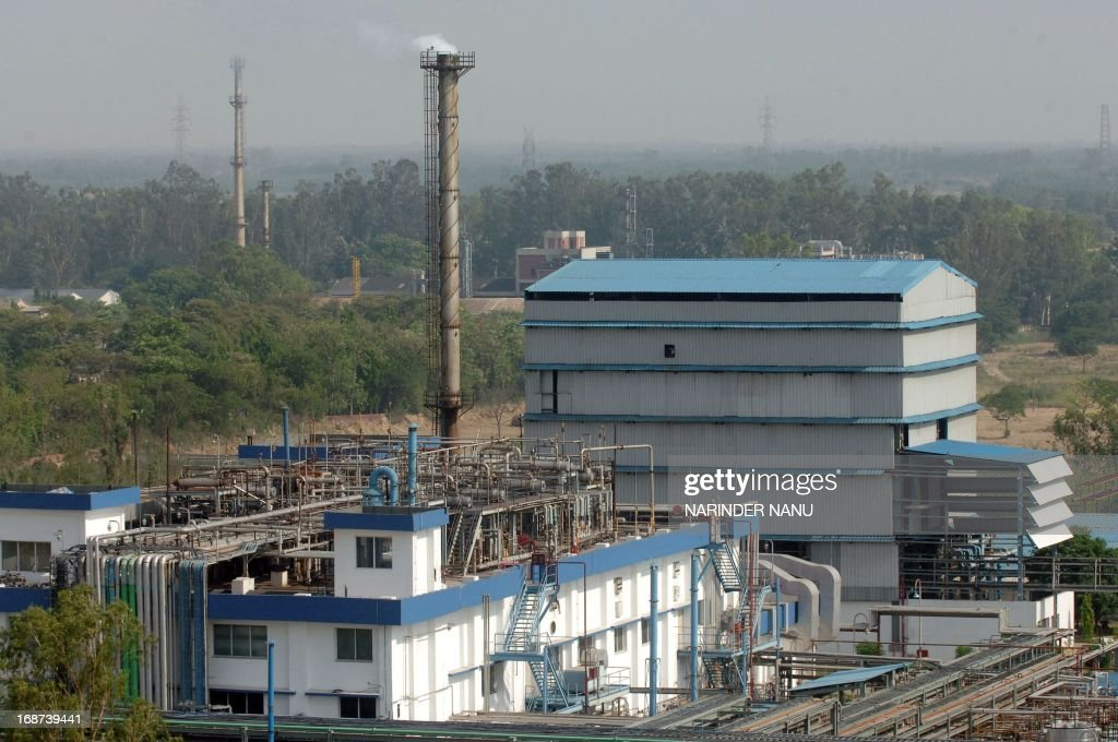 A view of the Ranbaxy Laboratories Limited pharmaceutical Indian factory at Toansa village in Ropar about 50 Km from Chandigarh on May 14, 2013. The US subsidiary of New Delhi-based Ranbaxy Laboratories pleaded guilty to seven counts of felony after it distributed several India-produced adulterated generic drugs in the United States in 2005 and 2006. They were all made in a facility near Chandigarh city in northern India, which US Food and Drug Administration inspectors cited for poor record keeping and inadequate testing for the stability of the drugs over time. AFP PHOTO/ NARINDER NANU