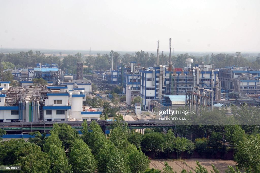 A view of the Ranbaxy Laboratories Limited pharmaceutical Indian factory at Toansa village in Ropar about 50 Km from Chandigarh on May 14, 2013. The US subsidiary of New Delhi-based Ranbaxy Laboratories pleaded guilty to seven counts of felony after it distributed several India-produced adulterated generic drugs in the United States in 2005 and 2006. They were all made in a facility near Chandigarh city in northern India, which US Food and Drug Administration inspectors cited for poor record keeping and inadequate testing for the stability of the drugs over time.