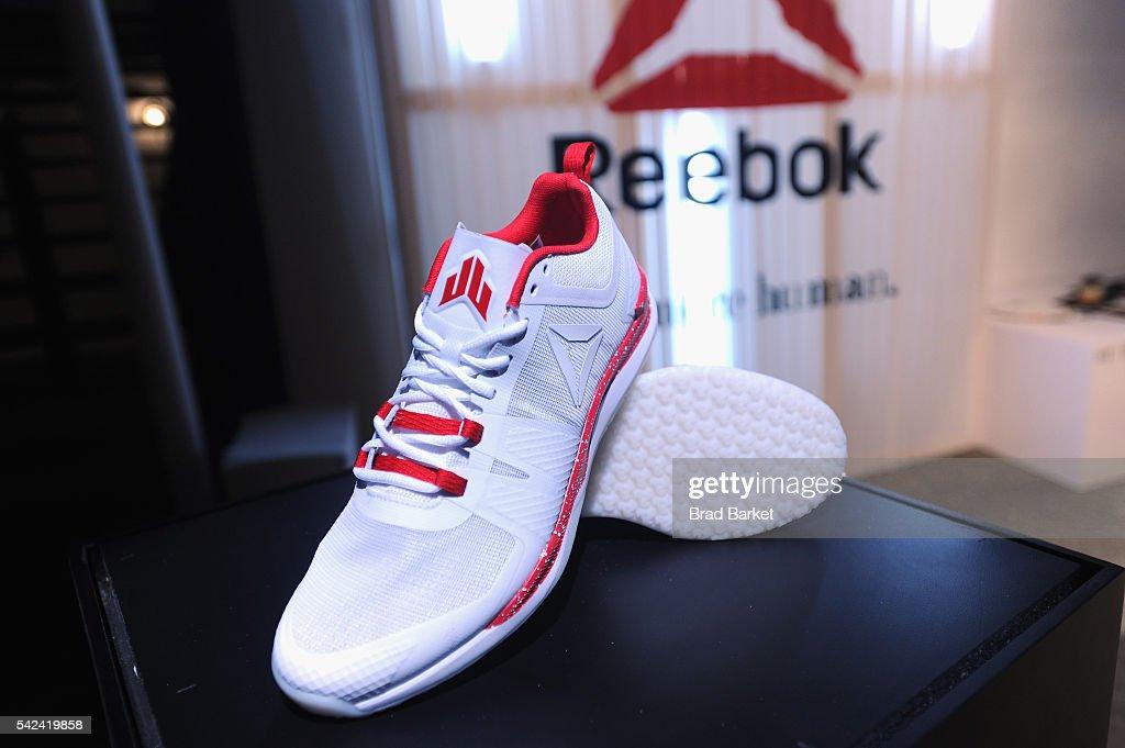 reebok jj 2. a view of the reebok jj i during launch j.j. watt\u0027s new signature sneaker jj 2