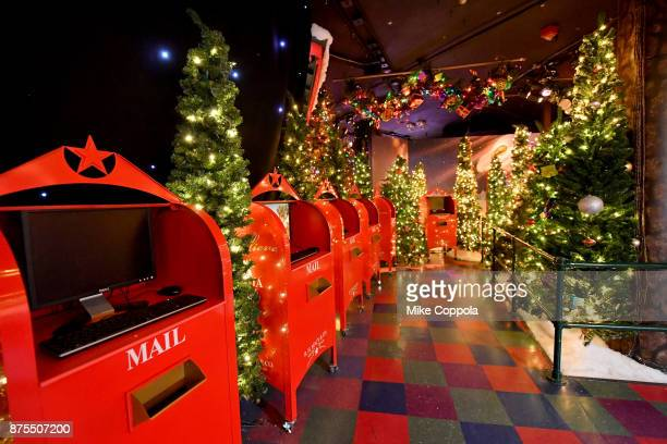 A view of the reservation station at Macy's Herald Square Santaland on November 17 2017 in New York City