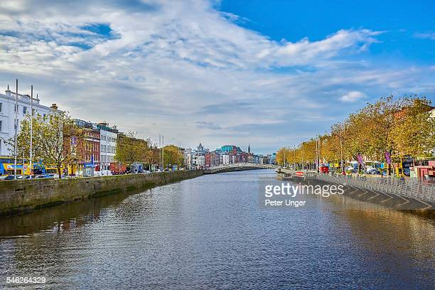 View of the River Liffey in Dunlin City