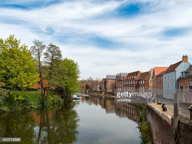 View of the River Wensum from Fye Bridge, Norwich