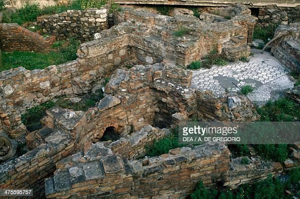 View of the Roman baths Reggio Calabria Calabria Italy Roman civilisation 1st2nd century