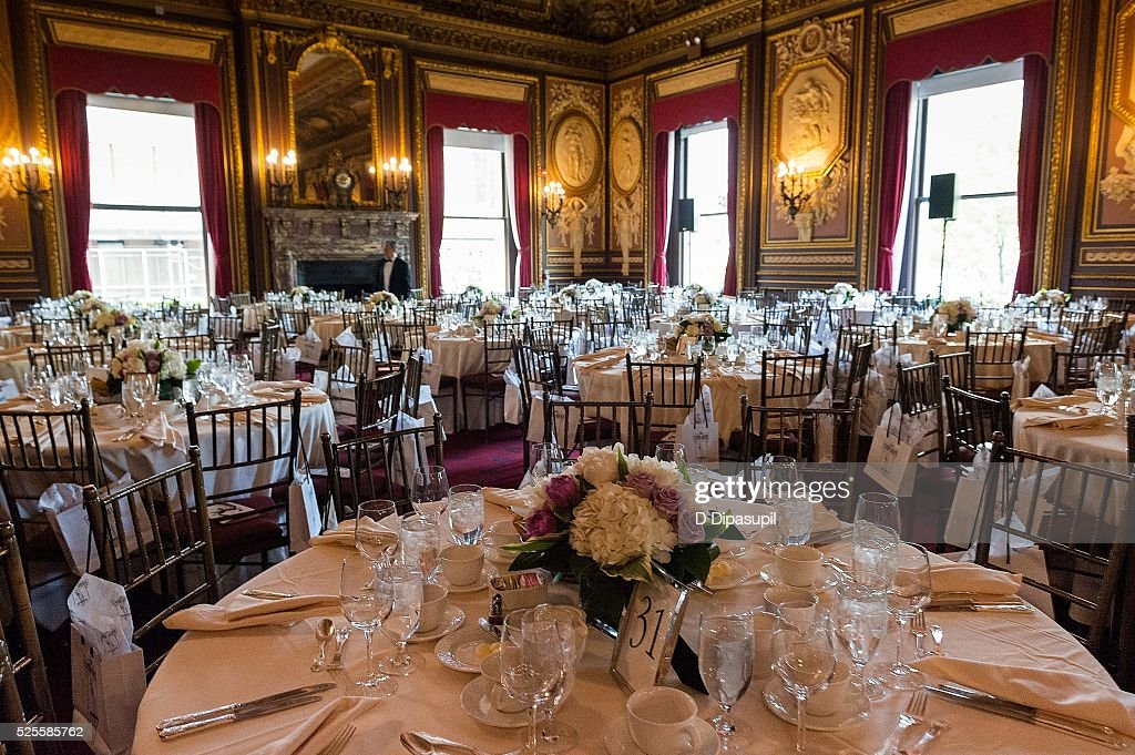 A view of the room before the 2016 Girls Inc Spring Luncheon at The Metropolitan Club on April 28, 2016 in New York City.