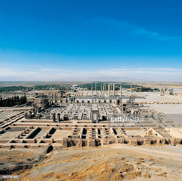 View of the ruins of Persepolis Iran Achaemenid civilisation 6th5th century BC