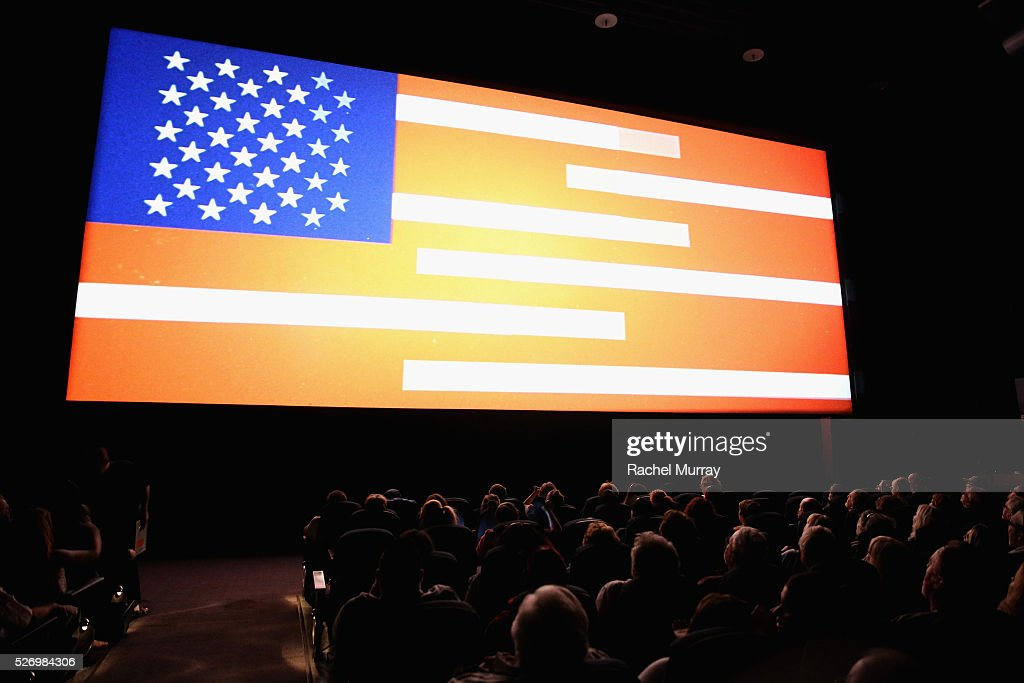 A view of the screen at 'The Russians Are Coming, the Russians Are Coming' screening during day 4 of the TCM Classic Film Festival 2016 on May 1, 2016 in Los Angeles, California. 25826_007