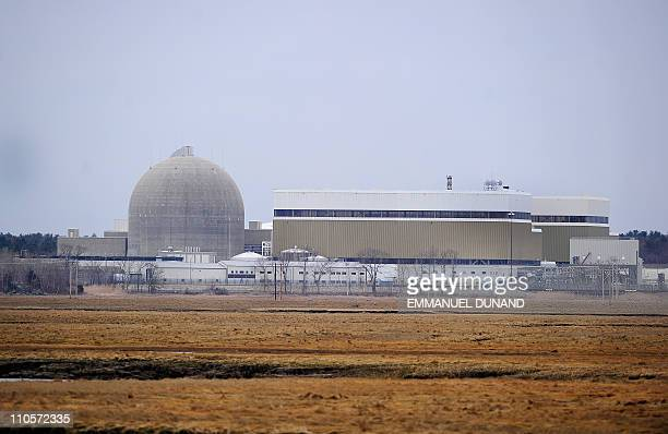 A view of the Seabrook Nuclear Power Plant in Seabrook New Hampshire March 21 2011 The plant more commonly known as Seabrook Station is located...