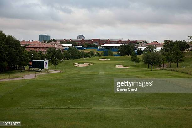 A view of the second hole during the HP Byron Nelson Championship at TPC Four Seasons Resort Las Colinas on May 21 2010 in Irving Texas