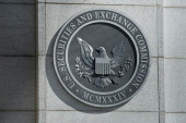 A view of the Securities and Exchange Commission headquarters May 3 2013 in Washington DC AFP PHOTO/Brendan SMIALOWSKI