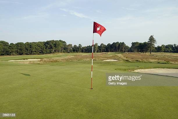 A view of the seventh hole at Shinnecock Hills Golf Club on July 22 2003 in Southampton New York Shinnecock Hills is the site of the 2004 US Open...