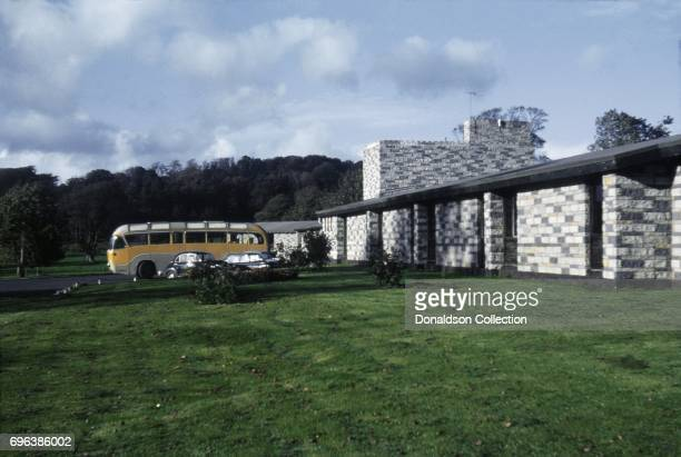 A view of the Shannon Shamrock Inn on the grounds of Bunratty Castle on October 1 1963 in Shannon Ireland