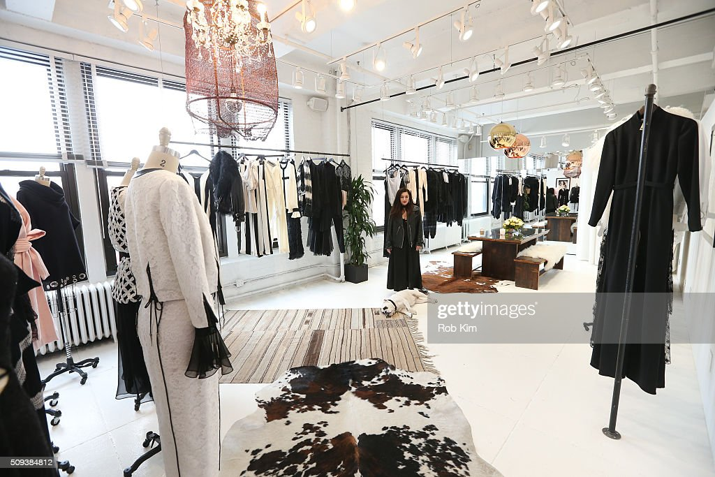 A view of the space at Houghton presentation during Fall 2016 New York Fashion Week at Houghton Atelier on February 10, 2016 in New York City.