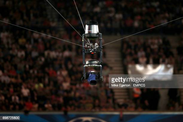 A view of the spider cam in action
