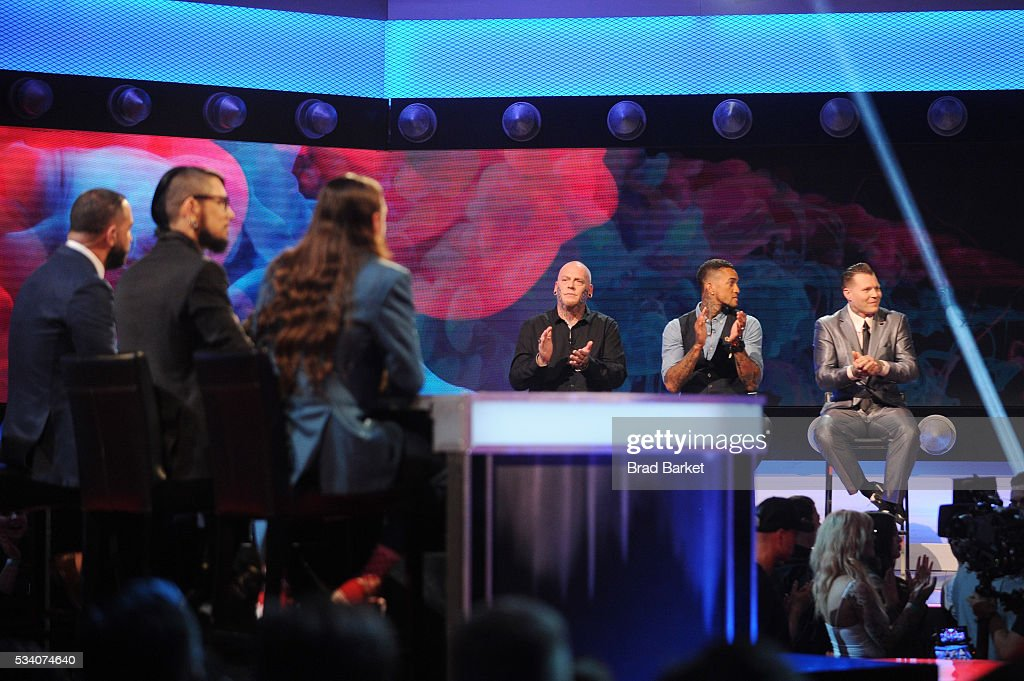 View of the stage during the 'Ink Master' season 7 LIVE finale on May 24, 2016 in New York City.