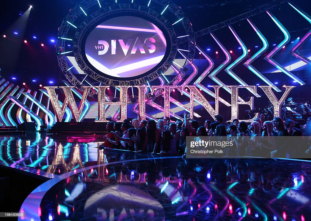 A view of the stage during 'VH1 Divas' 2012 at The Shrine Auditorium on December 16, 2012 in Los Angeles, California.