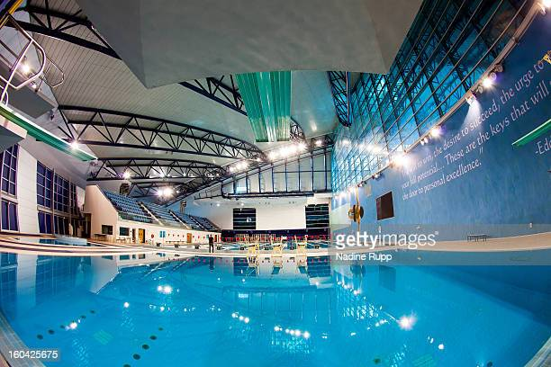 Aspire Qatar Swimming Aspire GelŠnde Stock ...