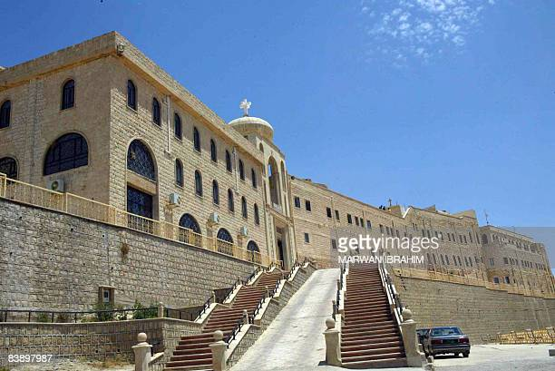 IBRAHIM A view of the Syrian Orthodox monastery of St Matthew or Deir Matti located on Jabal Muqbal some 30 kms northeast of the city of Mosul on May...