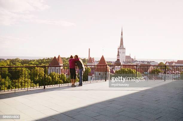 View of the Tallinn. Estonia