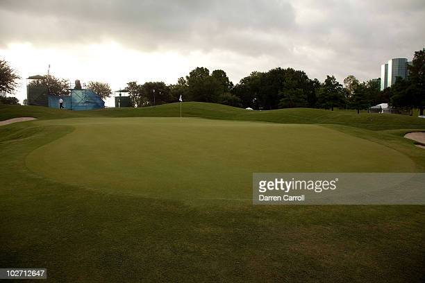 A view of the tenth hole during the HP Byron Nelson Championship at TPC Four Seasons Resort Las Colinas on May 21 2010 in Irving Texas