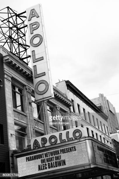 A view of the The Apollo Theater 'Spike's One Night Only Alec Baldwin' at The Apollo Theater on June 25 2017 in New York City