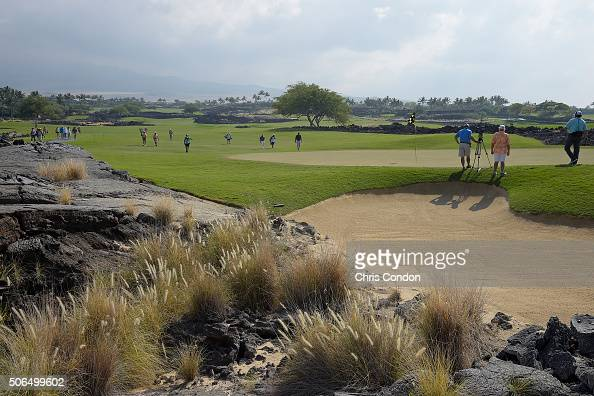 KA'UPULEHUKONA HI JANUARY 23 A view of the third green during the final round of the PGA TOUR Champions Mitsubishi Electric Championship at Hualalai...